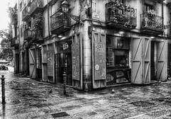 BCN (jorapa) Tags: bcn barcelona fuji bw bn blackandwhite blancoynegro botiga botigues ribera