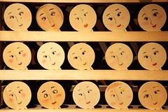 Smile (Teruhide Tomori) Tags: ema 鏡絵馬 河合神社 下鴨神社 糺の森 下鴨 京都 日本 伝統 美人 笑顔 smile face tradition kyoto japan japon kawaishrine shimogamoshrine happyplanet asiafavorites
