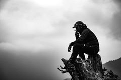 Chief (Gildas Le Mentec) Tags: sherpa nepal neapli himalaya mountain bw nb annapurna trek canon eos 6d 24105