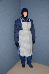 Slave Maid (Warm Clothes Fetish) Tags: maid slave girl torture hot winter fur fleece coots sweat niqab hijab apron
