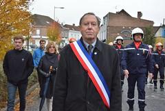 Cérémonie du 100ème anniversaire de l'Armistice (Mairie de Carvin) Tags: commémoration centenaire premièreguerremondiale novembre 2018 spectacle lepatio