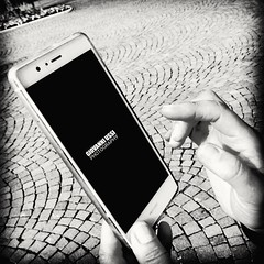 blackandwhite androidinstagram jellybean telefonino phone... (Photo: giovanniussi on Flickr)