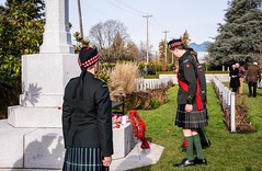 20181111_0080_1 (Bruce McPherson) Tags: brucemcphersonphotography seaforthhighlanders centumcorpora remembranceday armistice brassband 100piecebrassband livemusic bandmusic brassmusic remembrance armisticeday veteransday mountainviewcemetery jones45 areajones45 commonwealthcemetery remembering honouring wargraves outdoorperformance outdoormusic vancouver bc canada thelittlechamberseriesthatcould homegoingbrassband