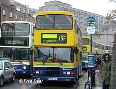 Dublin Bus RA245 (95D245). (Fred Dean Jnr) Tags: april2005 dublin dublinbus busathacliath dublinbusyellowbluelivery volvo olympian alexander r collegestreetdublin ra245 95d245 3019 n731rgd