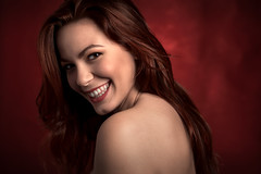 Federica (luca.onnis) Tags: rosso lucaonnis photography portrait portraiture redhair smile happiness beautifulgirl