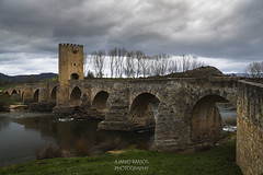 SITIOS DE BURGOS (jramosvarela) Tags: puente frias 2016 romanico rio burgos bridge river