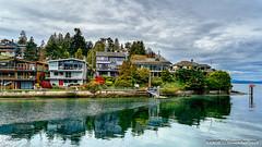 Seattle, WA: Upscale waterfront real estate near Ballard Locks (nabobswims) Tags: ballardlocks hdr highdynamicrange ilce6000 lightroom mirrorless nabob nabobswims photomatix sel18105g salmonbay seattle sonya6000 us unitedstates wa washington