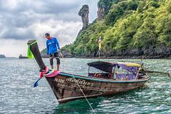 Ko Kai (Chicken Island) (mickreynolds) Tags: 2018 thailand andaaman sea longtail boat fisherman ko kai chicken island