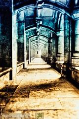 Corridor (sylviegrosbois) Tags: chateaufort pierre statue tombeau tour pierrefonds iledefrance france chateau castle canonphoto art architecture color illustration inspiration decoration artist darkart vintage creation creativity contemporyart