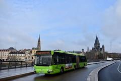 Metz - Irisbus Agora L - 27/11/18 (Jérémy P.) Tags: metz moselle lorraine grandest bus transports articulé irisbus agora agoral