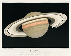 Lithograph Saturne printed in 1877, by F. Meheux, an antique representation of the planet saturn. Digitally enhanced from our own original plate. (Free Public Domain Illustrations by rawpixel) Tags: otherkeywords antique art astral astrology astronomical astronomy atlas celestial chromolithograph cosmology cosmos drawing eclipse fantasy fmeheux galactic galaxy graphic illustrated illustration lithograph meheux old planet plate print printed retro ring saturn saturne science scientific solar solarsystem system vintage