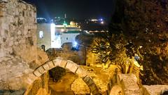 Jerusalem at night (jbdodane) Tags: israel jerusalem jewishquarter middleeast night oldcity templemount