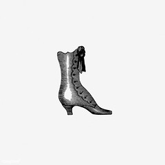 Vintage shoe design (Free Public Domain Illustrations by rawpixel) Tags: nationality monograph buttonboots buttons cc0 classic clothes clothing creativecommons0 drawing elegance elegant engraving etching fashion foot footwear france french gentleman gentlemen henry henryherbert herbert illustration isolated lace laceboots leather luxury male men monographic name old paris publicdomain retro shoe shoes shooting shootingboots stylish vintage
