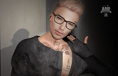 I am killing myself, will never back (akif611 Resident) Tags: clefdepeau redfish shi foxcity poses tank top signature blankline hair skins glasses swallow mandala