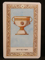 Ace of Cups. (Oxford77) Tags: tarot thenorsetarot norse viking vikings cards card tarotcards