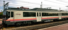 Spanish Railways RENFE Regional Services Class 440 EMU No. 9-470-122 at Alcázar de San Juan on 20 Oct 2018 (Trains and trams eveywhere) Tags: renfe spain emu regionalservices caf electric train railways espana m122 m470 m440