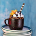 Chocolate Coffee Cup Dessert