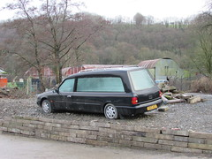 Dead Car...... (Andrew 2.8i) Tags: classic classics carspotting spotted spotting street car cars streetspotting hearse german estate scorpio cardinal ford coleman milne abandoned uk unitedkingdom
