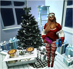 LooK ♥681# (Wredziaa & Fabian50000pl) Tags: glitzz blogger christmasaroundtheworld event fb gacha heartposes michan navycopper paparazzi seniha shape shinyshabby thearcade uber wffashion wredziaa
