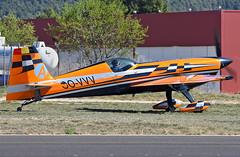 Aeródromo de Igualada-Odena- LEIG. (Josep Ollé) Tags: acrobacia acrobático monoplaza oovvv extra avión plane aeroplane aircraft