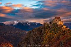 Sacra di San Michele (Ricky_71) Tags: sacra di san michele mountain sunshine autumn colors nikon
