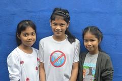 pretty friends (the foreign photographer - ฝรั่งถ่) Tags: three girls children friends khlong lat phrao portraits bangkhen bangkok thailand nikon d3200