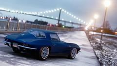 Chevrolet Corvette C2 Stingray 1963 (nbdesignz) Tags: chevrolet corvette c2 stingray 1963 gtplanet gt sport gran turismo nbdesignz nbdesignz84 nbdesignz1284 car cars snow