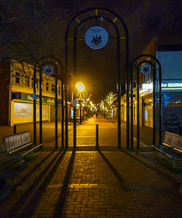365-8 Shopping street at night (Ruth_W) Tags: merseyside wallasey wirral night liscard 365the2019edition 3652019 day8365 08jan19 365