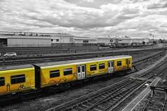 On track (paul_taberner_photography) Tags: railways trains coloursplash