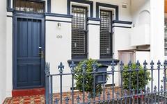 100 Underwood Street, Paddington NSW