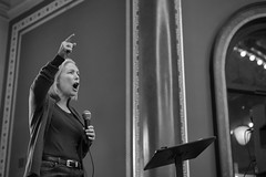 Kirsten Gillibrand - Set 6 15/100 X (mfhiatt) Tags: img51010119jpg womensmarch 2019 photojournalism documentary blackandwhite rally protest desmoines iowa march government politics candidate kirstengillibrand 100xthe2019edition 100x2019 image15100 capitol democrat president caucus