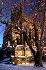 """Cincinnati - Spring Grove Cemetery & Arboretum """"Evening Light On Dexter Mausoleum"""" (David Paul Ohmer) Tags: cincinnati ohio spring grove cemetery arboretum golden hour light dexter mausoleum"""