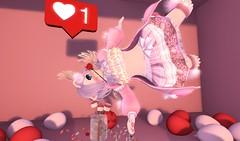 Clumsy Cupid (SerenitySemple) Tags: secondlife sl furry fashion barerose limerence junkfood lovesick hunt thebeardedguy lovebites valentinesday kawaii mokyu maitreya anime