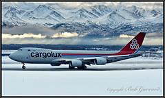LX-VCC Cargolux Airlines International (Bob Garrard) Tags: lxvcc cargolux airlines international boeing 748 7478 anc panc