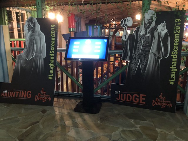 The Alton Towers Dungeon promos