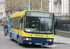 Dublin Bus WV7 (99D60007). (Fred Dean Jnr) Tags: april2005 dublin dublinbus busathacliath dublinbusyellowbluelivery collegegreendublin dbrook dublinbusroute63 volvo b6ble wright wrightbus crusaderii wv7 99d60007 v728phj
