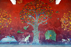Mosaics (SLpixeLS) Tags: thailand dara devi hotel trees mosaic chiangmai