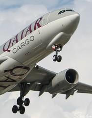 Qatar Cargo (vomm_aviationpictures) Tags: qatar a330 cargo freighter chennai