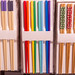 Colorful japanese chopsticks