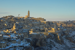 Italien 2018 Apulien 27022018 524 (Dirk Buse) Tags: matera basilicata italien ita city unesco welterbe heitage stadt italia italy sunset schnee snow cold colorful beauty outdoor mft m43 mu43 travel reise holiday vacation trip cityscape
