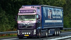 NL - S. van Helvoirt >vd Linden< Volvo FH GL03 (BonsaiTruck) Tags: helvoirt linden volvo lkw lastwagen lastzug truck lorry camion caminhoes