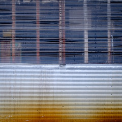 (jtr27) Tags: dscf2479xl2 fuji fujifilm xe2s xf 1855mm f284 rlmois lm ois corrugated metal siding barn maine square rust oxidation newengland