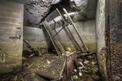 Underground complex.  Abandoned since WW2, 2nd shoot (2) (pe0s, Steven) Tags: bunker ww2 hdr abandoned urbex underground atlanticwall forgotten atlantic wall bunkers den helder pe0s war worldwar two denhelder