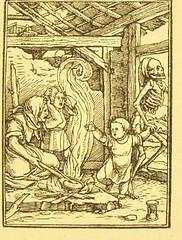 This image is taken from Page 91 of Der Todtentanz von H. Holbein, nach dem Exemplare der ersten Ausgabe im Kgl. Kupferstich-Cabinet zu Berlin in Lichtdruck nachgebildet (Medical Heritage Library, Inc.) Tags: dance death rcplondon ukmhl medicalheritagelibrary europeanlibraries date1879 idb22651263