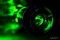 Macro Mondays - Green (minelflojor) Tags: vert bouteille macro mondays green flou bokeh verre lumière ombre culot rond bottle blur glass light shadow round base cercle circle tamronsp90mmf28dimacro11vcusd