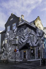 In search of the pretty things (aerojad) Tags: eos canon 80d dslr 2018 landscape vacation travel wanderlust iceland2018 iceland october autumn reykjavik reykjavík streetphotography streetscape art artinpublicplaces mural murals graffiti architecture architecturephotography clouds