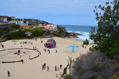 Bondi Sculpture by the Sea (philk_56) Tags: australia sydney new south wales bondi sculpturebythesea tamarama beach sculptures sand sea coast
