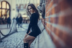 Yulia (Vagelis Pikoulas) Tags: portrait woman girl beautiful beauty canon 6d sigma art 85mm f14 poland europe ukraine photography photoshoot city krakow november 2018 autumn