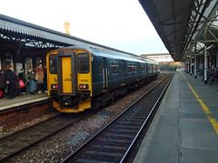 150202 Truro (Marky7890) Tags: gwr 150202 class150 sprinter 2p92 truro railway cornwall cornishmainline train