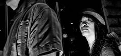 Whatever happened to baby Jane. (Baz 120) Tags: candid candidstreet candidportrait city contrast street streetphotography streetphoto streetcandid streetportrait strangers monochrome monotone mono noiretblanc bw blackandwhite urban life portrait people italy italia grittystreetphotography flashstreetphotography faces decisivemoment